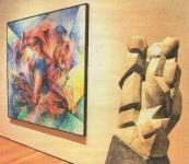 В музее современного искусства в Нью-Йорке